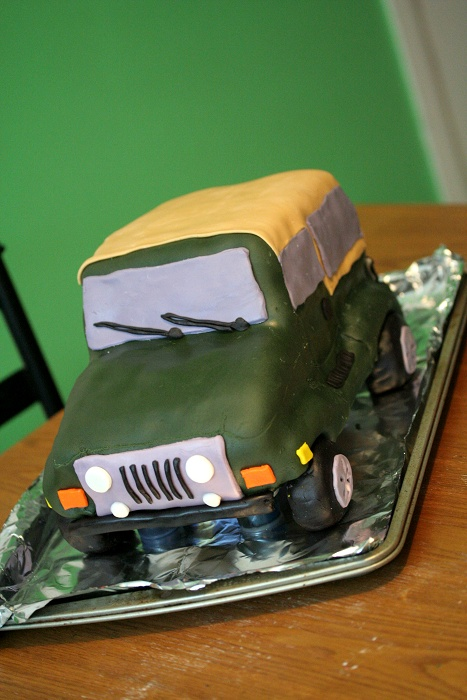 CBC Cakes and More Created by Christi Jeep 3D Cake