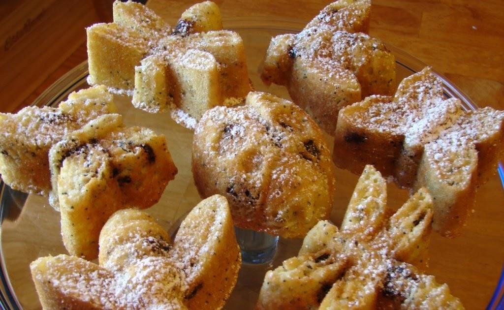 Nummy Kitchen Cherry Poppy Seed Muffins Tyler Florence