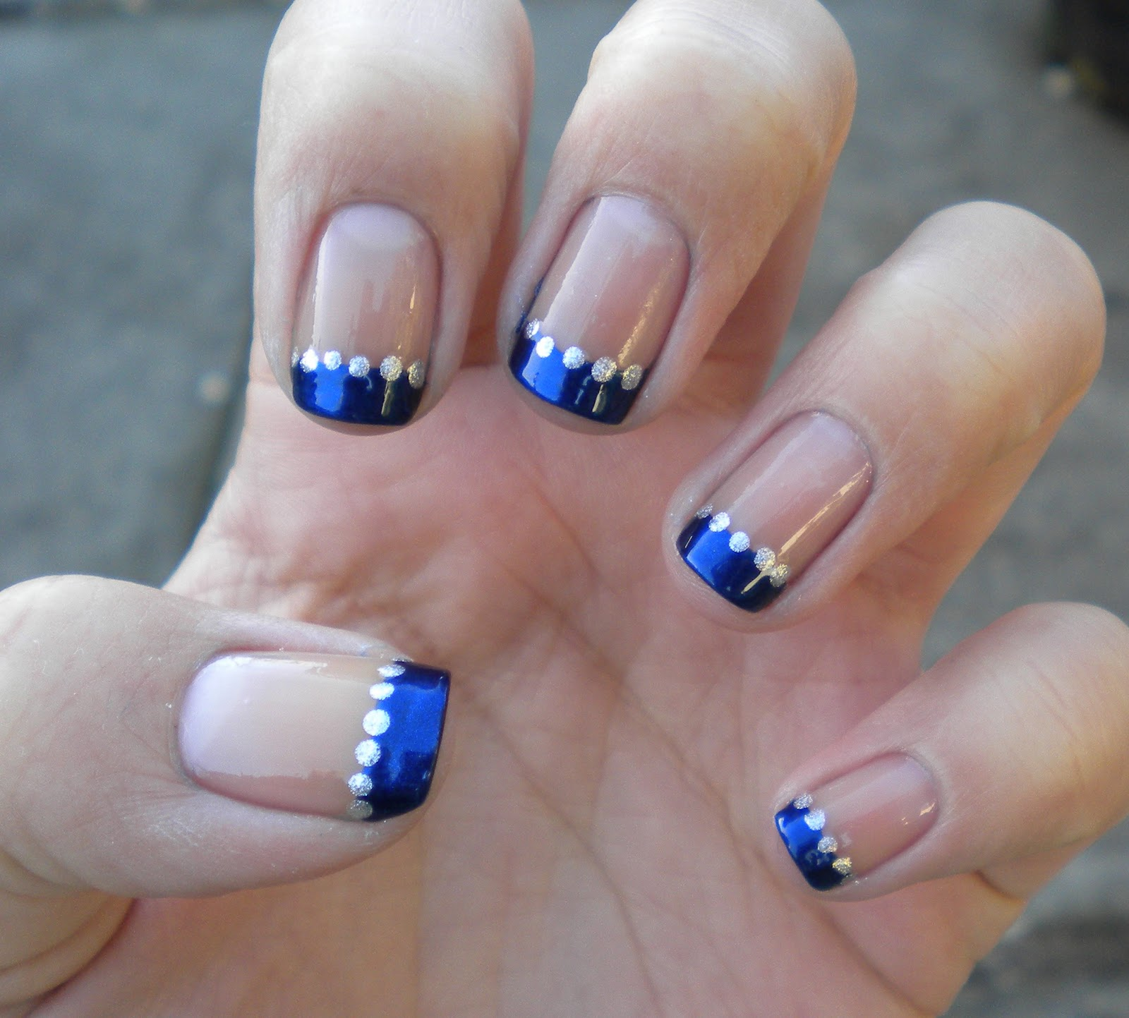 Smile For The Little Things: French Manicure Variation