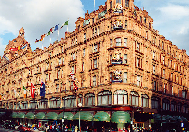 London Harrods Department Store