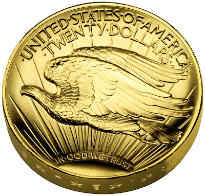 UHR * Original Mint Capsule For 2009 Ultra High Relief Gold Coin