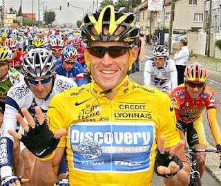 Lance Armstrong 7 - Matt Damon en el biopic de Lance Armstrong.