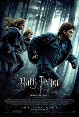 "harrypotterposter - ""Harry Potter and the Deathly Hallows - Part 1"", se filtra media hora de la movie en Internet."