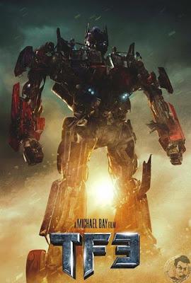 tf3t - Primer póster oficial de Transformers 3, así o más simplon.