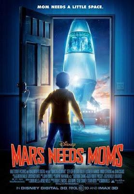 mars needs moms poster marte necesita madres - Póster y Tráiler de Mars Needs Moms, lo nuevo de Robert Zemeckis