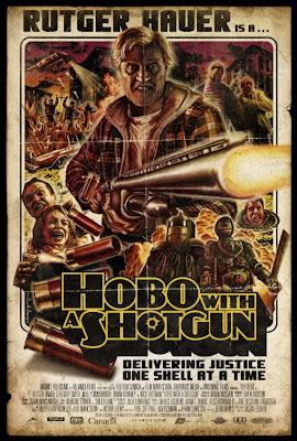 """hobo with a shotgun poster 3 - Tráiler y póster de """"Hobo with a Shotgun"""""""