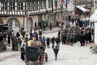photo dominique gutekunst 4 - Fotos desde el set de Sherlock Holmes 2
