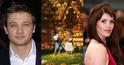 "Hansel and Gretel Witch Hunters cast Jeremy Renner and Gemma Arterton - ""Hansel and Gretel: Witch Hunters"" lista para empezar a grabar."