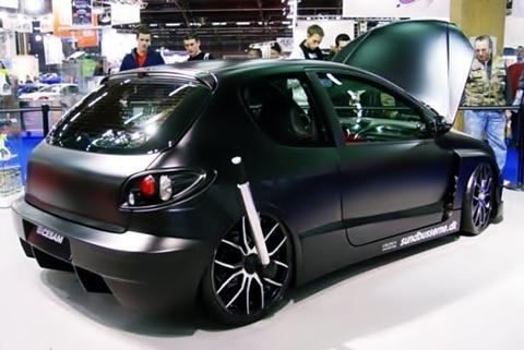 carros tuning peugeot 206 tuning carros tuning. Black Bedroom Furniture Sets. Home Design Ideas