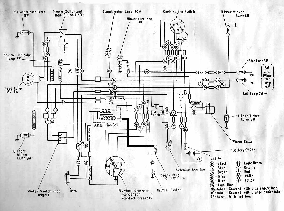 Ct70 K1 Wiring Diagram Strat Elektrisch Schema Honda C110 4 Takt Forum
