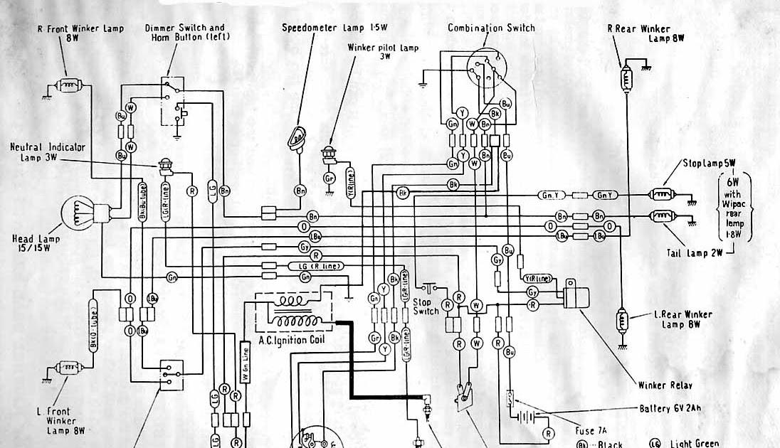 Wiring Diagram Of Honda Tmx 155 - Schematics Online on