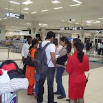 Surya Jyothika Diya At Airport