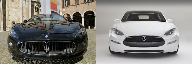 No Comment: Tesla Model S – Maserati GranTurismo