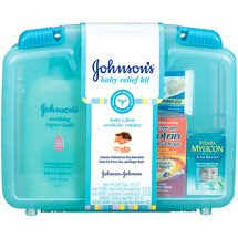 """JOHNSON""""S BABY RELIEF KIT FREE!"""