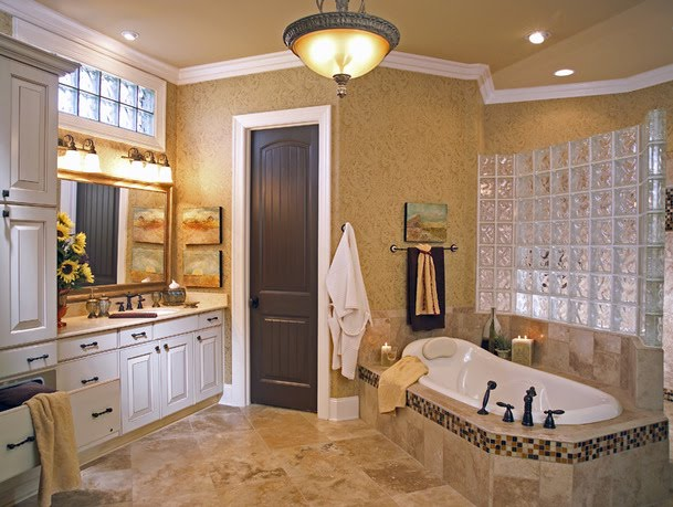 Cupboards kitchen and bath staging your kitchen bath - Master bathroom decorating ideas ...