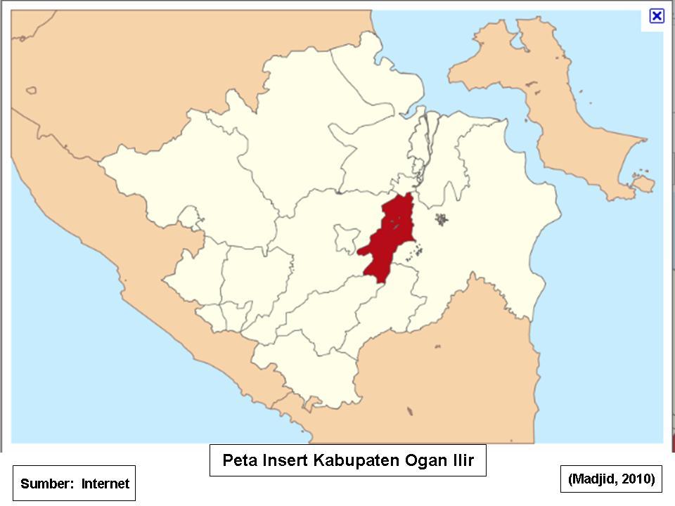 Dasar Dasar Ilmu Tanah: Peta Insert Kabupaten Ogan Ilir ...
