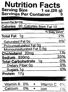 riley's jerky nutrition facts
