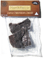 North Prairie Signature Bison Jerky - Peppered