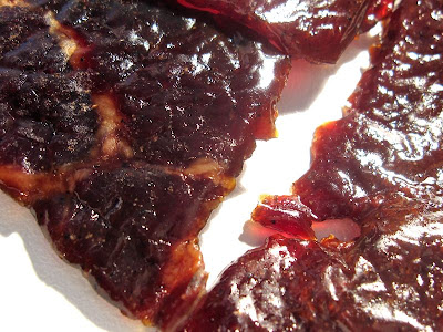 maple syrup beef jerky
