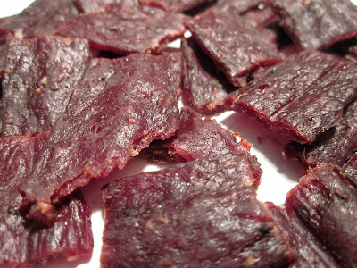 medium hot jerky