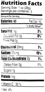 golden valley meat snacks nutrition