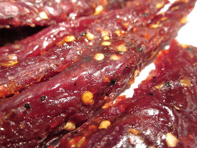 sweet and hot jerky