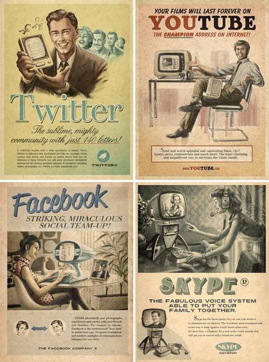 The Best of Social Media Print Ads ~ Online Marketing Trends