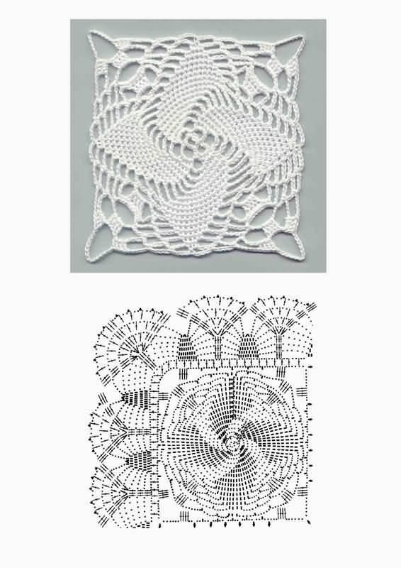 Рхема 8. Вязание сумок женских крючком - схемы вязания, модели.