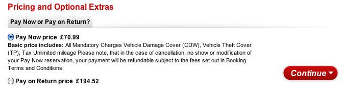 Avis Preferred Rental Car Jersey City