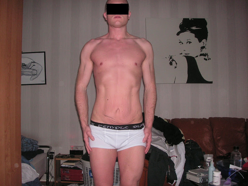 Rickard — After Leangains @ 178lbs (Front)