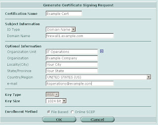 Firewall Guru: Creating Self Signed Certificates for your