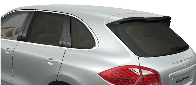 Porsche Cars Accessories Thermally And Noise Insulated