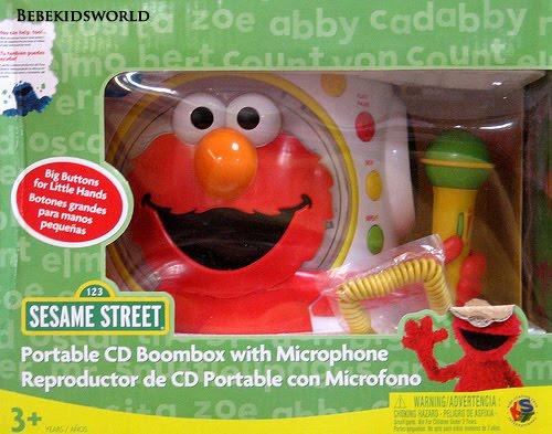 My Baby World Elmo Boombox Real Boombox