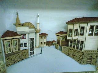 Ahşap Rölyef Minyatür Ve 3 Boyutlu şekillendirme Sanatı