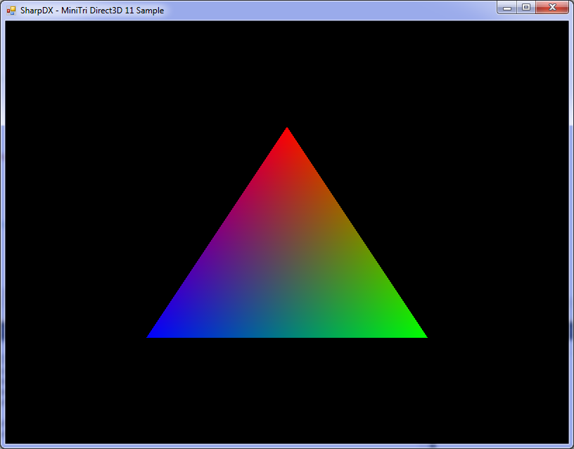 A new managed  NET/C# Direct3D 11 API generated from DirectX