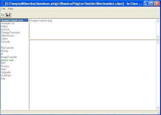 Mengedit file .class dengan In Class Translator