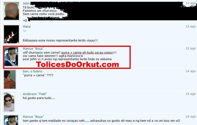 Tolices do Orkut
