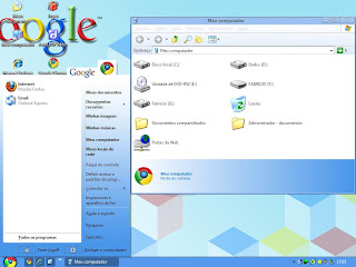 Google ChromeX Theme