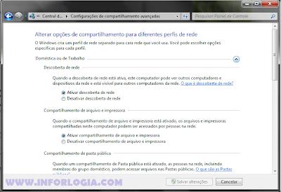 Compartilhamento Windows 7 e XP