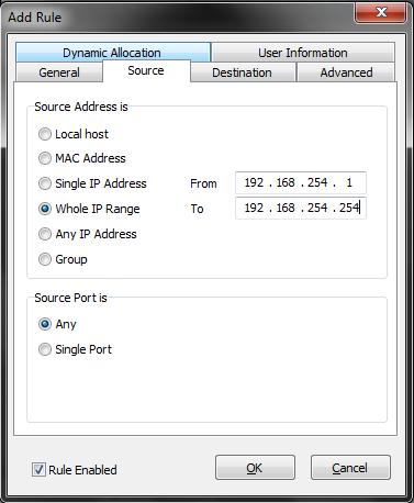 Proxy Transparente no Windows