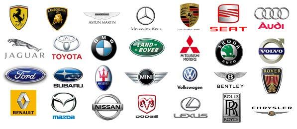 Unique Car Logo Ideal | Logos Design Favorite