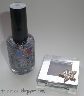 Superdrug NYC glitter nail polish
