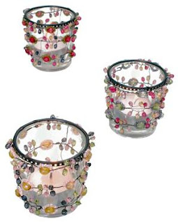 Bombay duck candle holders