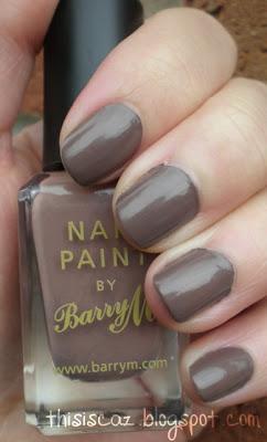 Barry M Mushroom Nail Paint