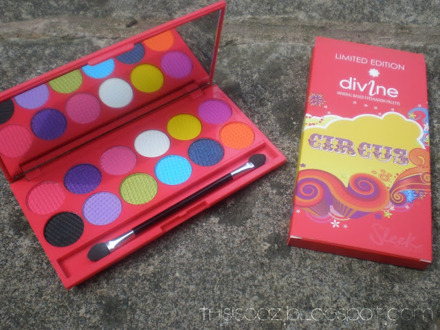 Sleek MakeUP Circus iDivine Palette