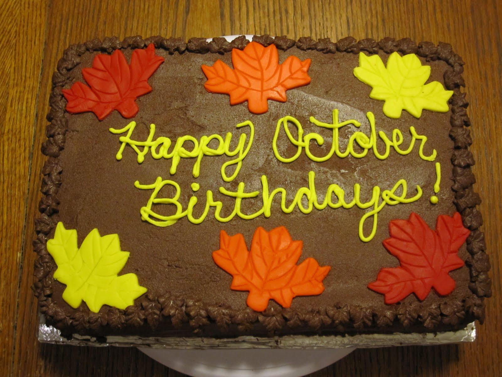 Taste Amp See Cake Design Fall Themed Birthday Cake