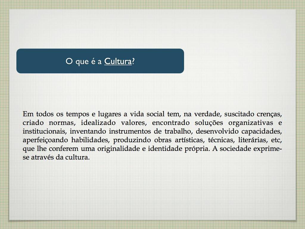 O uso do conceito de cultura na investigação sobre ...