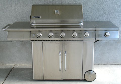 Pete S Blog Converting A Jenn Air Barbecue Grill From