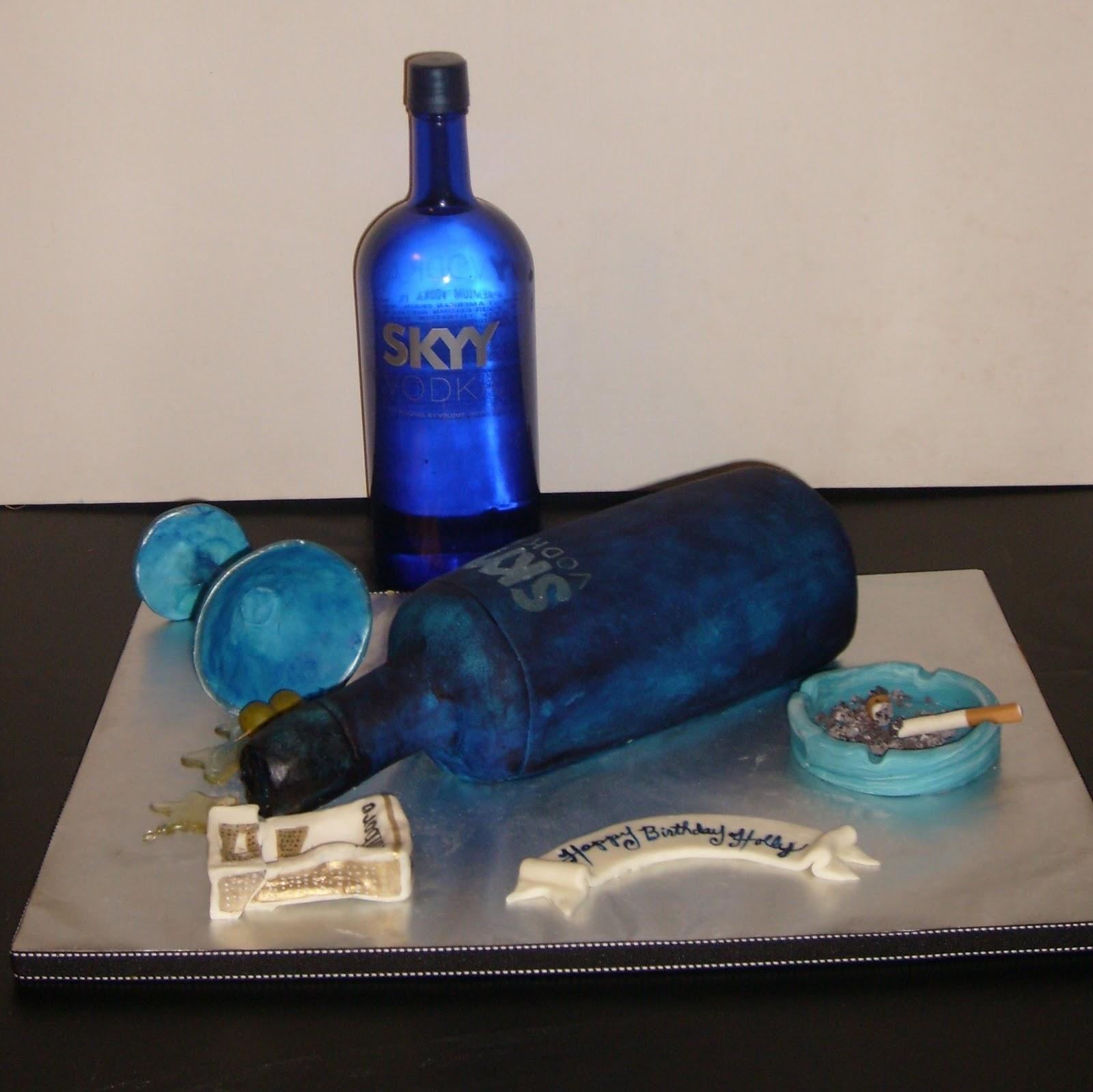 Vodka Birthday Cake Blog
