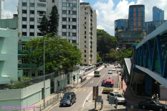 香港街道 Hong Kong Streets: 基堤道 Embankment Road